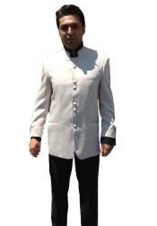 Button Mandarin Nehru Tuxedo