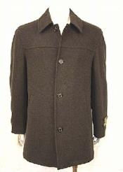 4 Button Car Coat