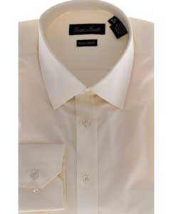 Slim-Fit Dress Shirt Solid