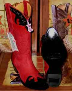 Altos Women Red/Black Leather