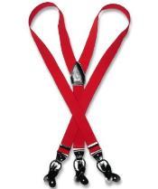 Red Suspenders Y Shape