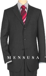 SKU WBL657 Extra Long Charcoal Gray Suits in Super 150s Italian Wool Suit MensUSA Exclusive Line Vented 199