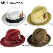 100% Wool Hat Available