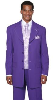 Purple Fancy Vest three
