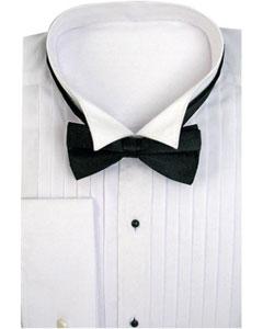 Tuxedo Dress Shirt Wing