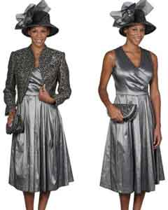 Dress Set Grey/Gold