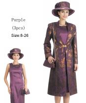 Dress Set Purple/Gold