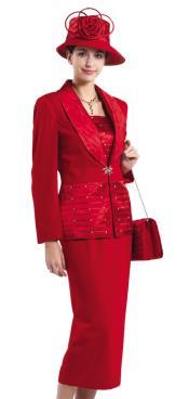 Dress Set Red $139