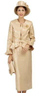 Dress Set Gold
