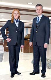 Blue Vested Suit