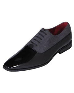 Grey Tuxedo Shoe Contemporary