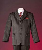 Pinstripe Boys Suits One
