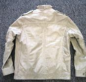 Ivory Military Genuine Leather