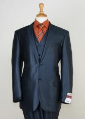 3 Piece Sharkskin Suit