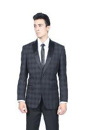 Glen Plaid Slim Fit