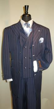 Mens Suit Navy with
