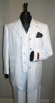 Mens Suit White with