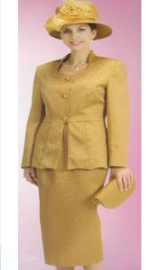 Lynda Couture Promotional Ladies Suits- Gold $139