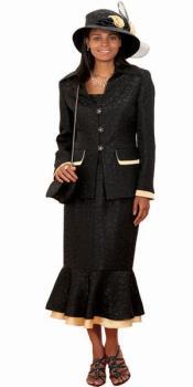 2 Piece Brocade Couture