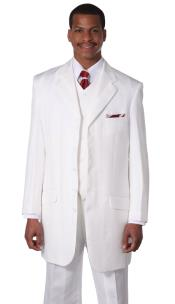 Designer Church Suits White