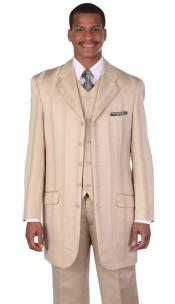 Designer Church Suits Tan