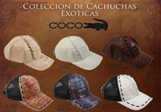 Hats Genuine caiman ~
