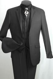 Fashion Mens 2 Button
