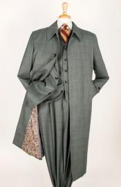 ~ Sage Windowpane Mens