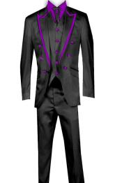 Piece Blazer+Trouser+Waistcoat Trimming Tailcoat