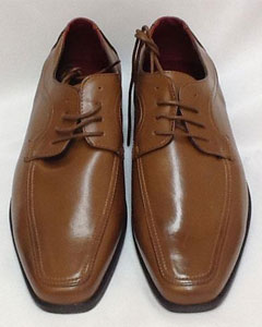Two Tone Shoes CognacRust