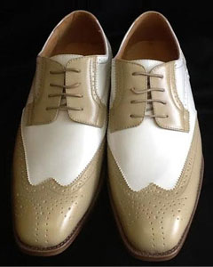 Two Tone Shoes Oyster