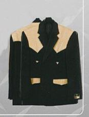 Western Suits Black-orix