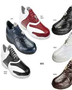 SKU#PN-H65 Belvedere Mens Shoes Available Colors In Black, Red, White, Navy and Brown