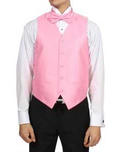 Pink Rose 4-Piece Vest