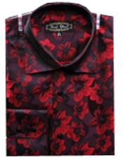 Fancy Shirts Red(100% Polyester)