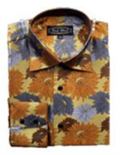 Fancy Shirts Brown $65