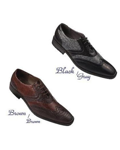 Mens Wing-Tip Design Dress