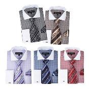 Mens Cotton Blend Checks