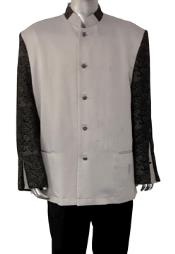 Clergy Blazer with Embroidered