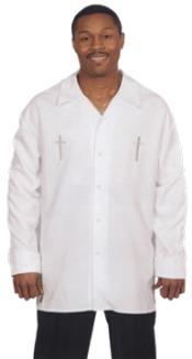 Clergy Shirt with Crosses