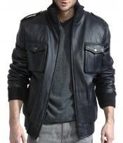 Mens Lambskin Leather Jacket