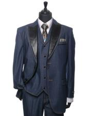 Mens indigo ~ teal