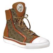 Nappa & Fabric Sneakers