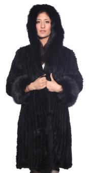 Madison Fox Fur Stroller