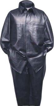 Real Lamb Leather Suit
