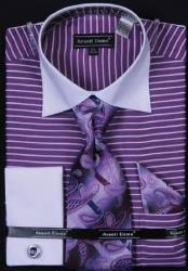 SKU#AC-420 Avanti Uomo Purple