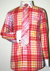 Checker Pattern Dress Fashion
