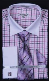 Checker Dress Fashion Shirt/