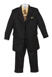 Fashion Zoot Boys Pinstripe