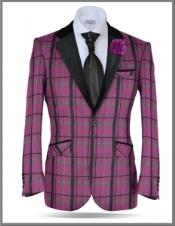 Plaid Windowpane Tweed Sport